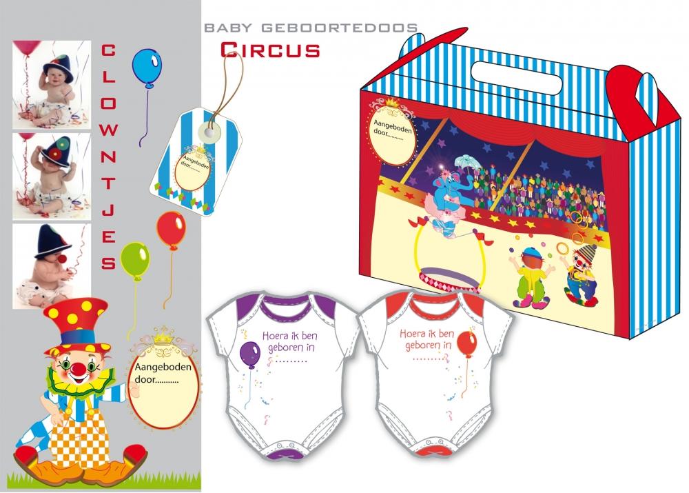 Geboorte doos Circus