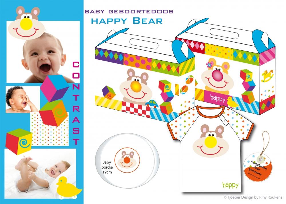 geboorte doos Happy Bear