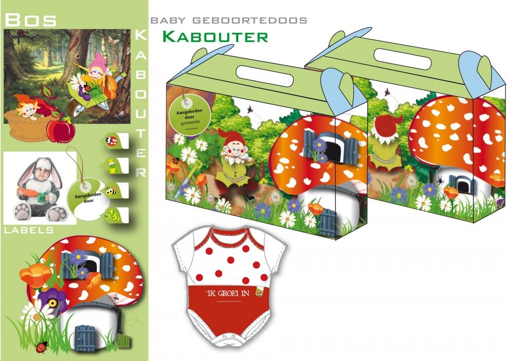 Geboorte doos Kabouters
