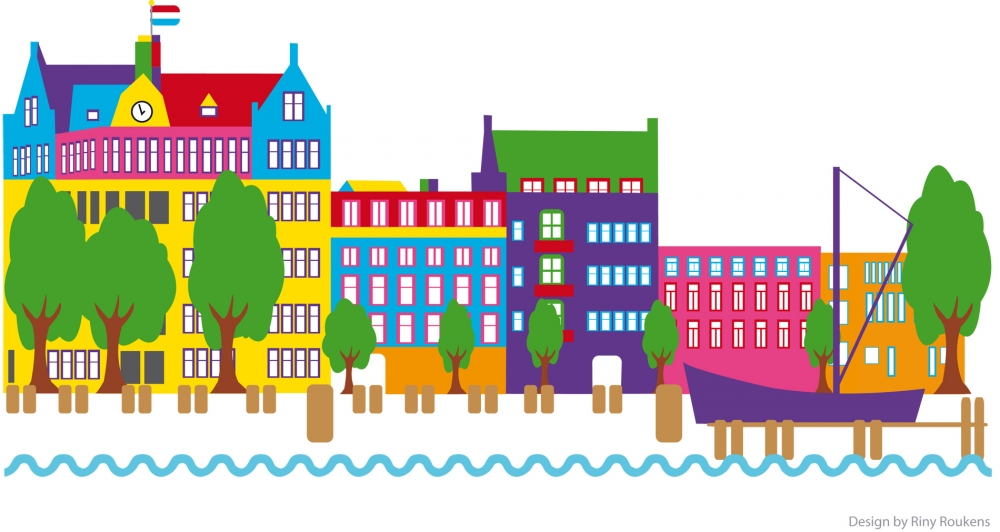 Rotterdam Haven gekleurd