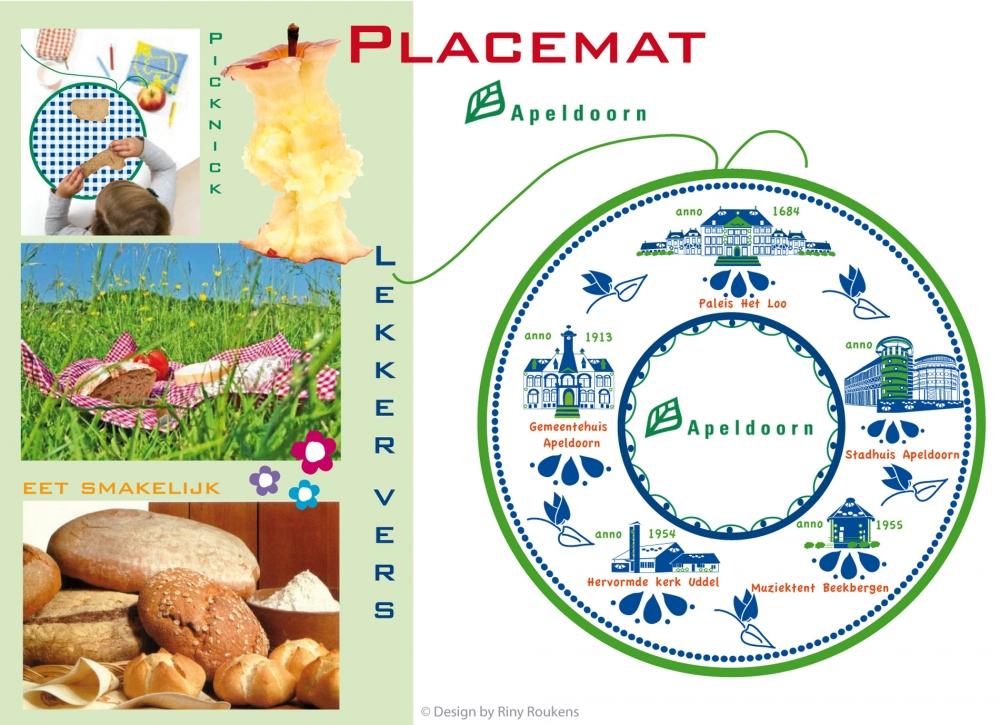 Placemat Apeldoorn